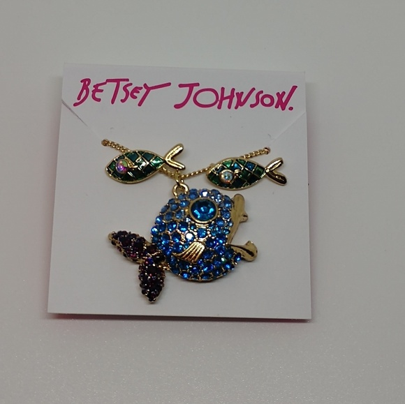 Betsey Johnson Jewelry - Betsey Johnson fish set